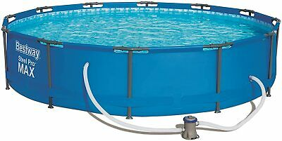 Bestway 12ft Steel Pro Max Swimming Pool With 330 Gal Filter