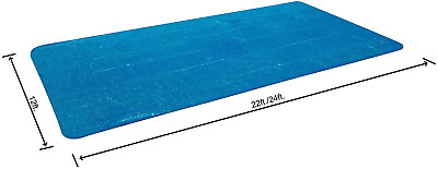 Bestway 24 feet Rectangular Solar Swimming Pool Cover