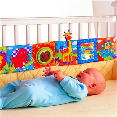 Cute Infant Baby Animal Cloth Book Bed Cognize Intelligence