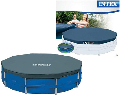 INTEX Steel Framed Pool COVER 10ft ROUND SWIMMING POOL