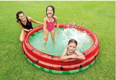 Intex Watermelon Inflatable Paddling Pool Children's Kids
