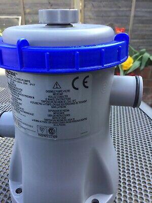 New Bestway Flowclear 330gal Swimming Pool Filter Pump - 330