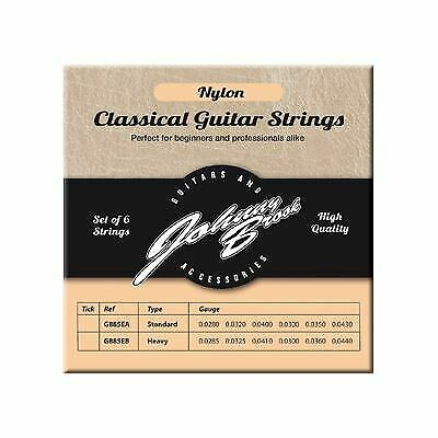 Set of 6 High Quality Nylon Classical Guitar Strings (High
