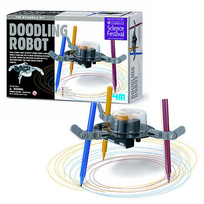 4M Doodling Robot Draw Arts Smart Toy Educational Game Gift