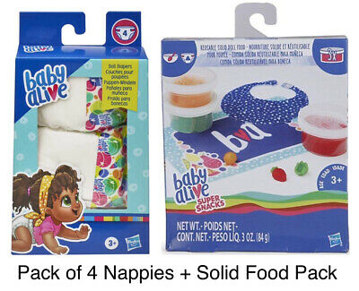 Baby Alive Super Snacks Solid Doll Food Refill Pack + Pack