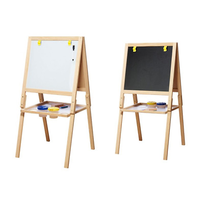 Casdon Little Artist Double Sided Wooden Easel 2 in 1 With
