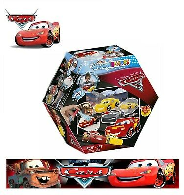 Disney Pixar Cars Creativ Set Spleash beadys Beads Craft Set