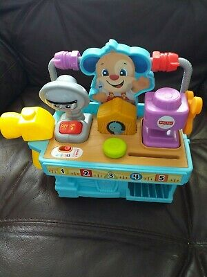 Fisher-Price Laugh and Learn Busy Learning Tool Bench Infant
