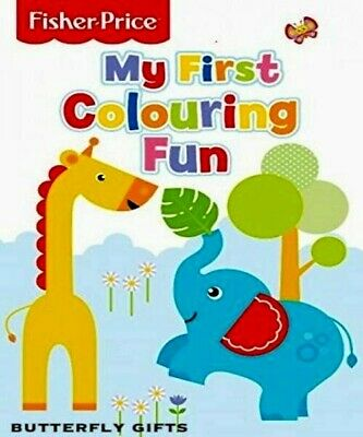 Fisher Price My First Colouring Fun Toddler Kids Drawing