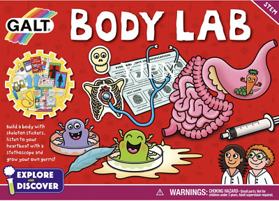 Galt Toys Body Lab Kit - FAST AND FREE DELIVERY.