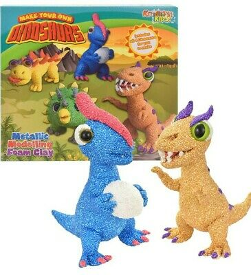 Kreative Kids Make Your Own Dinosaurs Foam Clay Craft NEW
