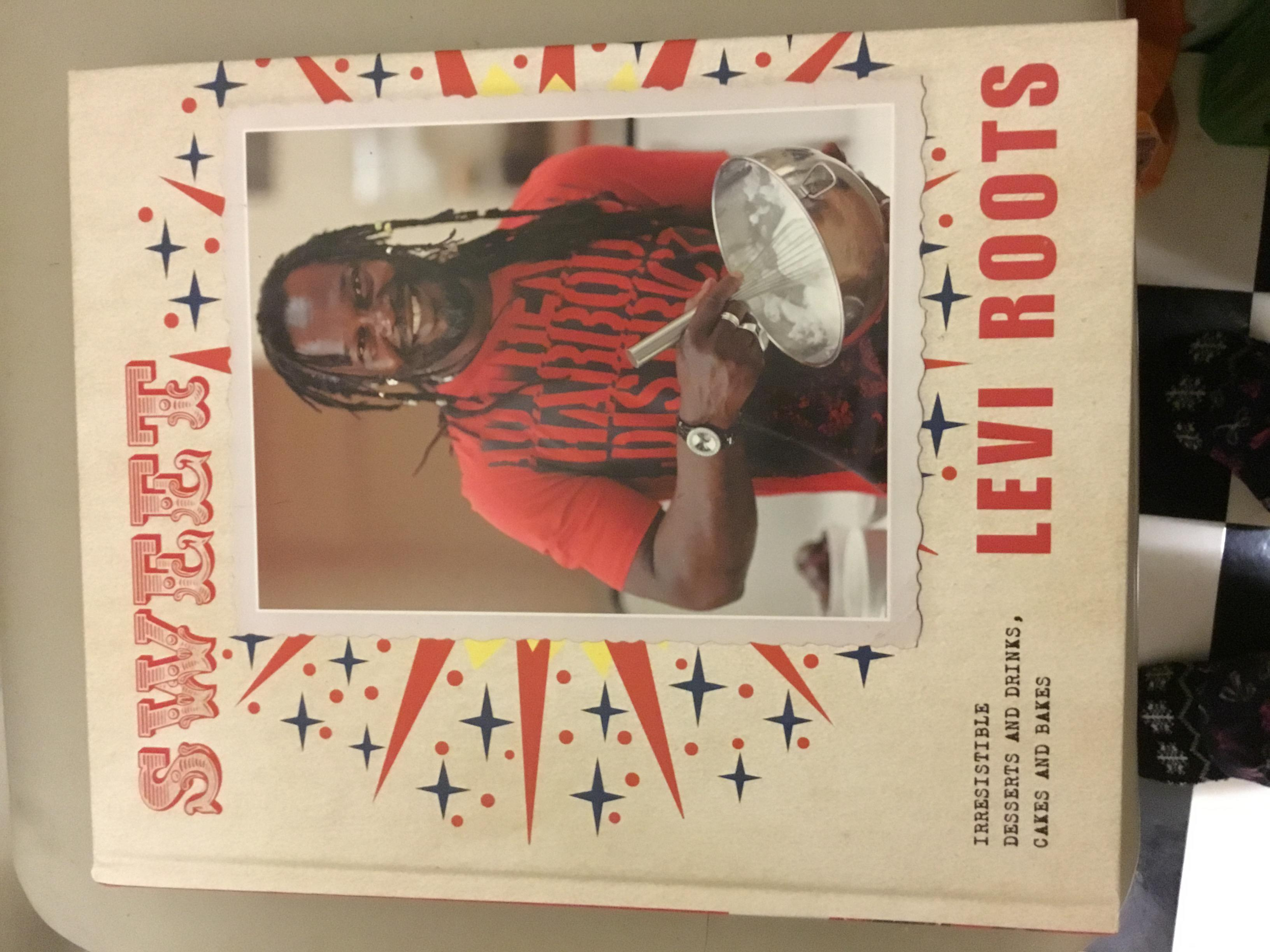 New Levi Roots 'Sweet' Hardback Cookery Book