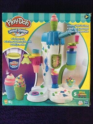 PLAY-DOH: SWEET SHOPPE:PERFECT TWIST ICE CREAM PLAYSET:USED: