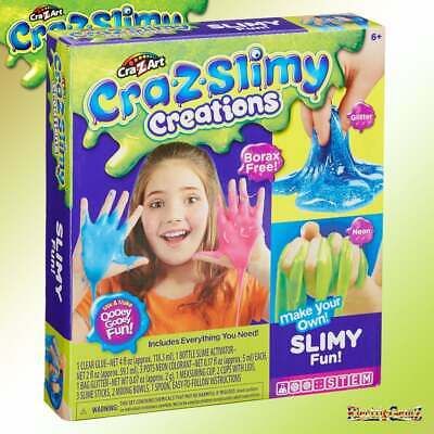 cra-Z-art Cra-Z-Slimy Creations Slimy Fun Kit Slime Making