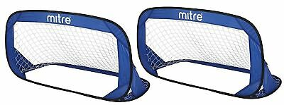 Mitre Quick Pop Up Football Goal Set Standard Packaging