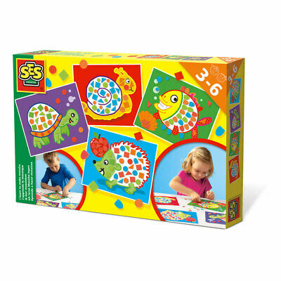 Children's I Learn to Make Mosaics Set 3 to 6 Years