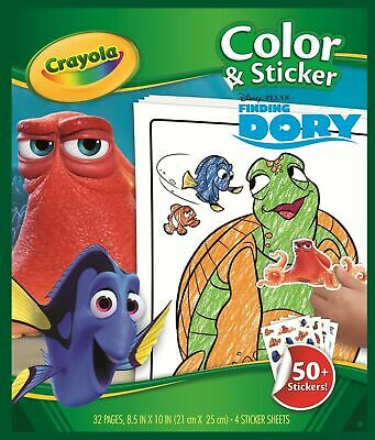 Crayola  Dory Colour N Sticker Book
