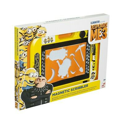 Despicable Me 3 Minions Large Magnetic Scribbler Drawing
