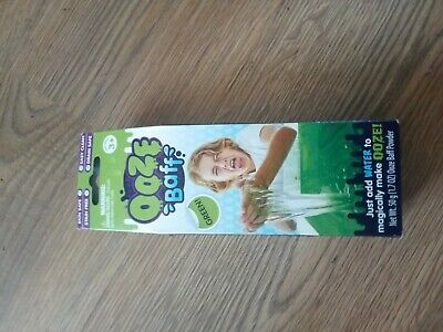 GREEN OOOZE BAFF SLIME ZIMPLI KIDS MAKE YOUR OWN SLIME PLAY