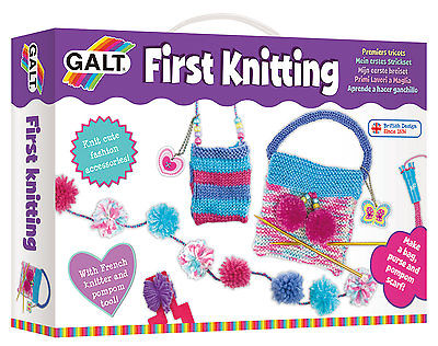 Galt Toys Creative Cases First Knitting set - FREE & FAST