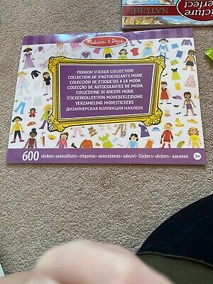 Melissa and Doug  - Fashion Sticker Collection - NEW!!
