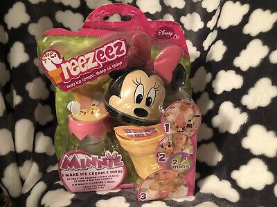 New Disney Minnie Mouse Freezeez Ice Cream Treat Maker Girls