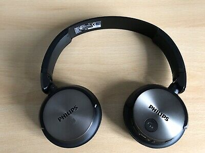 Philips SHB Bluetooth Headphones Black/Silver