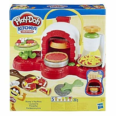 Play-Doh Stamp 'n Top Pizza Oven Toy with 5 Non-Toxic