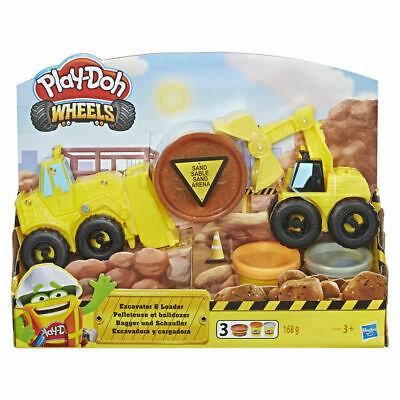 Play-Doh Wheels Excavator & Loader Kids Gift Set