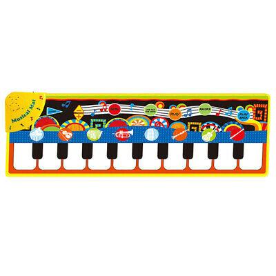 2X(Piano Mats Music Carpets Children Press Play Mat with