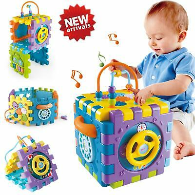 ACTRINIC Baby Toys 18+ month Baby Activity Cube Toy,6 in 1