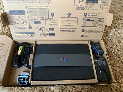 Brand New BT Smart Hub Home 6 Wireless Router complete box