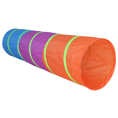 Charles Bentley Kids Pop Up Play Tunnel in Multi Polyester &