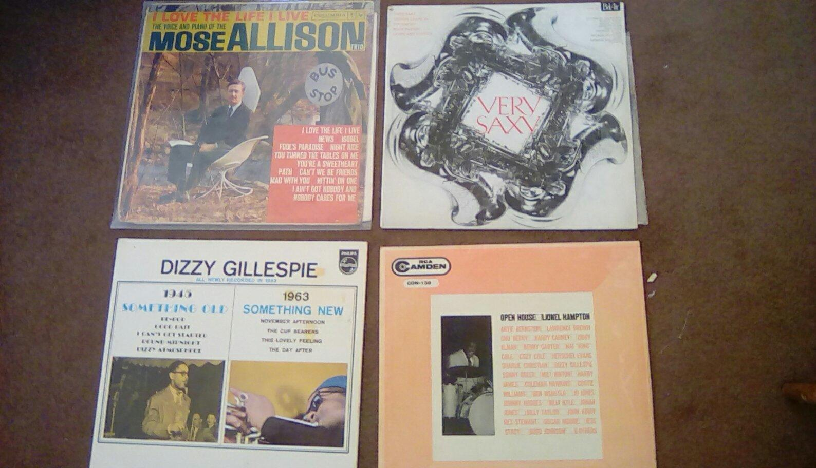 Collection of 25 jazz and blues records.demo