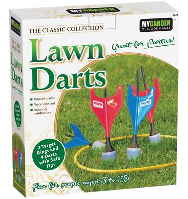 Lawn Darts Garden Outdoor Family Skill Summer Fun Game