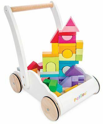 Le Toy Van Petilou BABY RAINBOW CLOUD WALKER Wooden Toy BN