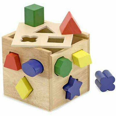 Melissa and Doug Shape Sorting Cube Classic Toy