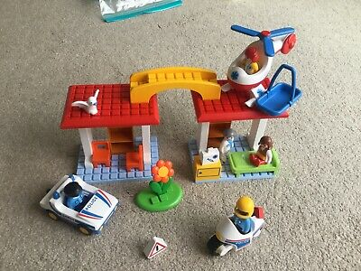 Playmobil 1-2-3 Hospital Playset with Paramedics and Police