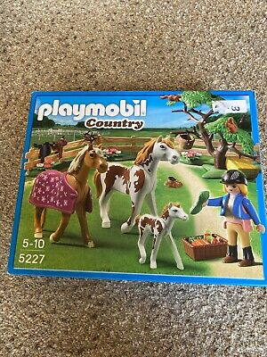 Playmobil  Country Paddock with Horses and Foal - With