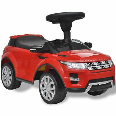 vidaXL Land Rover 348 Kids Ride-on Car with Music Red