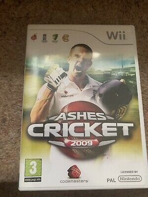 Ashes Cricket  (Wii) Nintendo Wii - Complete