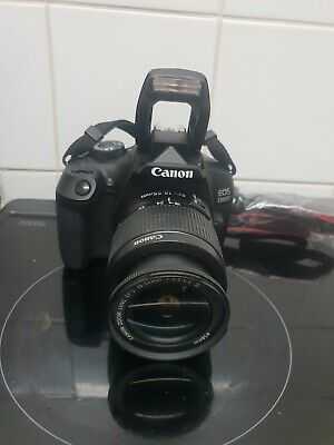 CANON EOS D 18.0MP DIGITAL SLR CAMERA WITH EF-S IS III