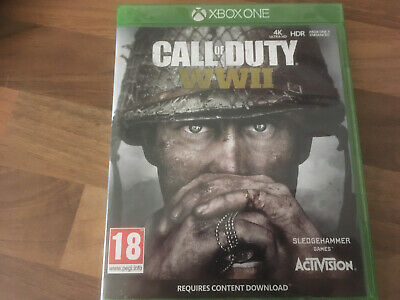 Call of Duty: WWII for Xbox One in NEAR MINT Condition