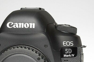 Canon 5D mk iv DSLR Body - very low shutter count ()