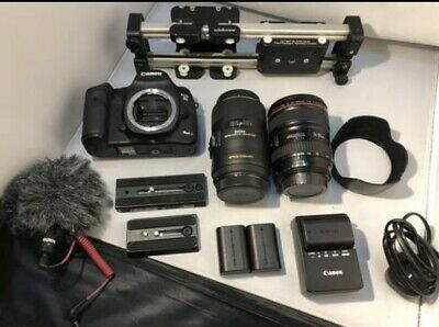 Canon EOS 5D Mark III Digital SLR camera 2x Lens edelkrone