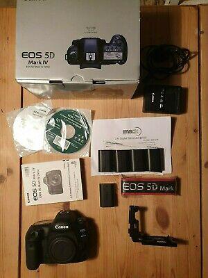 Canon EOS 5D Mark IV body, excellent condition