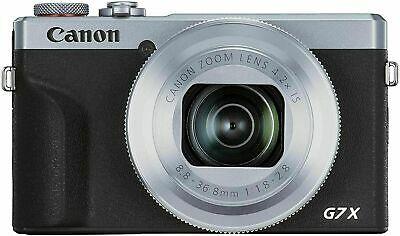 Canon PowerShot G7 X Mark III Digital Compact Camera Silver