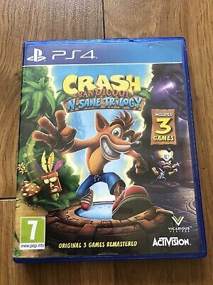 Crash Bandicoot Nsane Trilogy PS4 Playstation4 Original 3