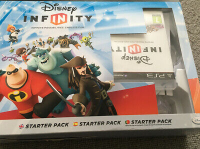 Disney Infinity - Starter Pack (PS3) Game and Figures