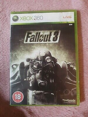 Fallout 3 (Microsoft Xbox ) Bethesda Video Game